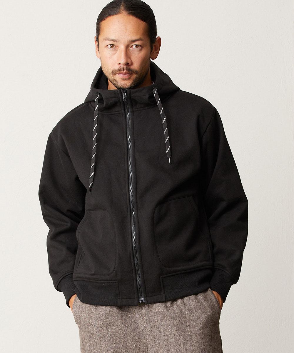 【CAMBIO(カンビオ)】【予約販売10月末~11月上旬入荷】Bonding Fleece Hooded Jacket