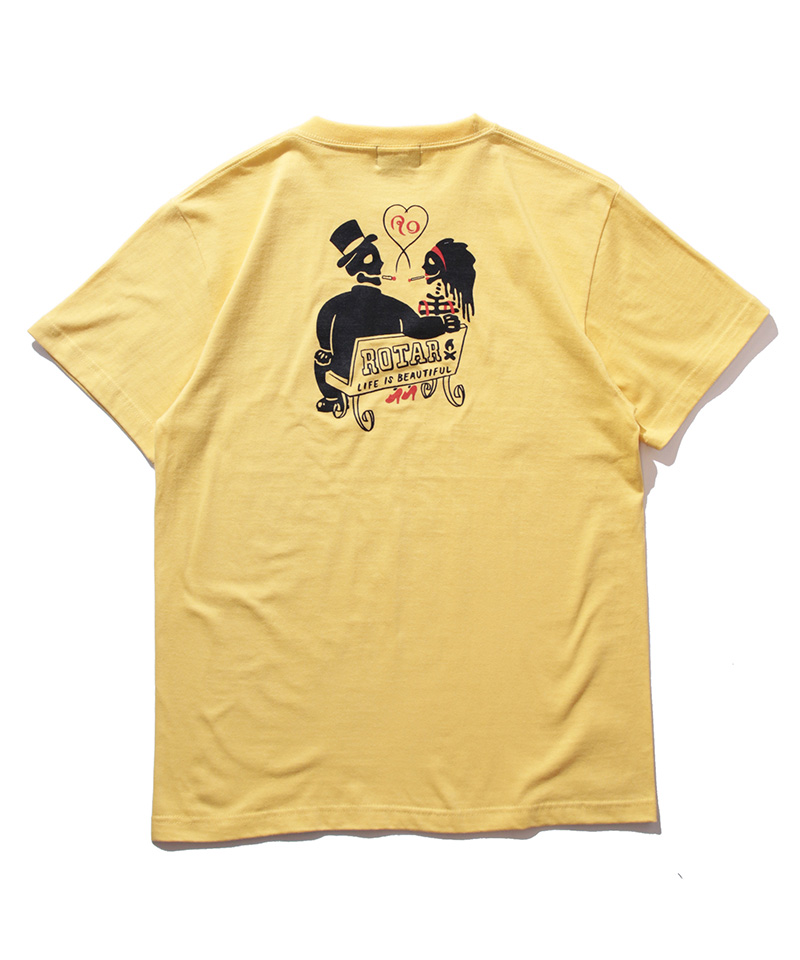 ROTAR ローター Smoke Pair Tee 新作 大人気 新作からSALEアイテム等お得な商品満載 Tシャツ rt2147720