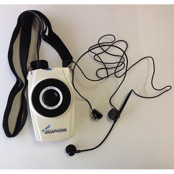【中古】拡声器 ギガホン 携帯 ハンズフリー 充電式 送料無料