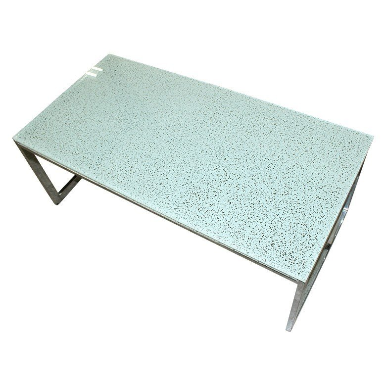 【中古】ガラスローテーブル 相合家具 送料無料