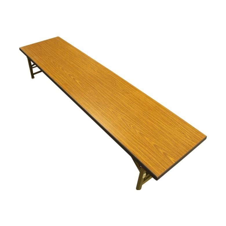 【中古】座卓 2台セット 折りたたみ 長机 180cm 送料無料