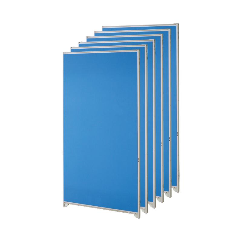 【中古】パーテーション 自立式 オフィス 更衣室 幅900×高さ1835mm 6枚セット 完成品 設置込 地域限定送料無料