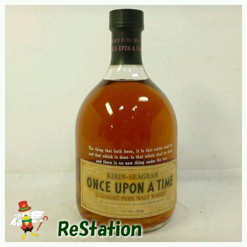 【未成年の飲酒は法律で禁じられています】【愛媛県民在住限定】キリンワンスアポンナタイム720ml43度特級ストレートプアモルトウイスキー