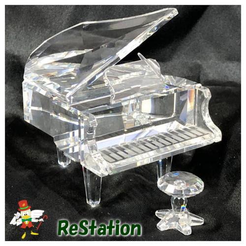 【中古】スワロフスキークリスタル「グランドピアノ」174576オブジェ【送料無料】