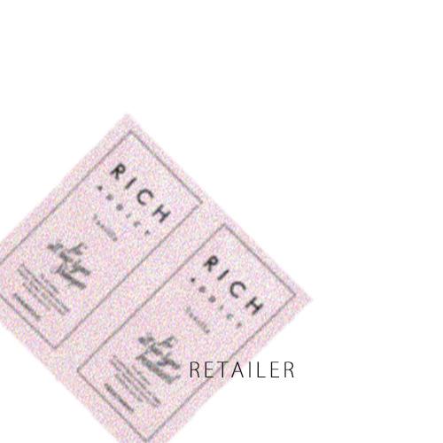 各10ml×70セット 【RICH ADDICT】リッチアディクト RICH ADDICT シャンプー&コンディショナー トライアルセット 各10ml×70セット <ヘアケア><プラセンタ·シアバター·コラーゲン> <アミノ酸·ケラチン·馬油><COSME DE TOKYO>