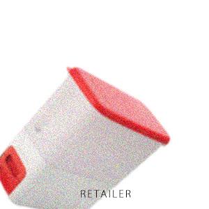 置き場所を選ばないスリムスマートなデザイン Tupperware タッパーウェアスマートライスディスペンサー 最新 商品 10kg 食品保存容器 ストック 日用雑貨 キッチン用品 米びつ お米