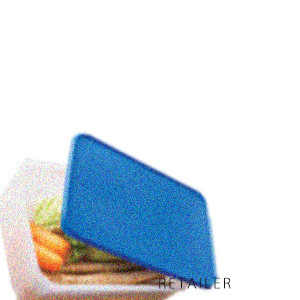 ♪ MM【Tupperware】タッパーウェアMMダブル(すのこ付)・ブルー 1個<日用雑貨><キッチン用品><大型><9400ml><食品冷蔵庫保存容器>