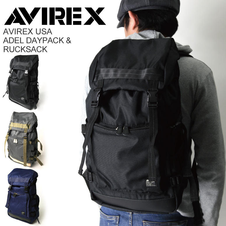 AVIREX(アビレック/アヴィレックス) アデルシリーズ デイパック リュックサック【コンビニ受取対応商品】