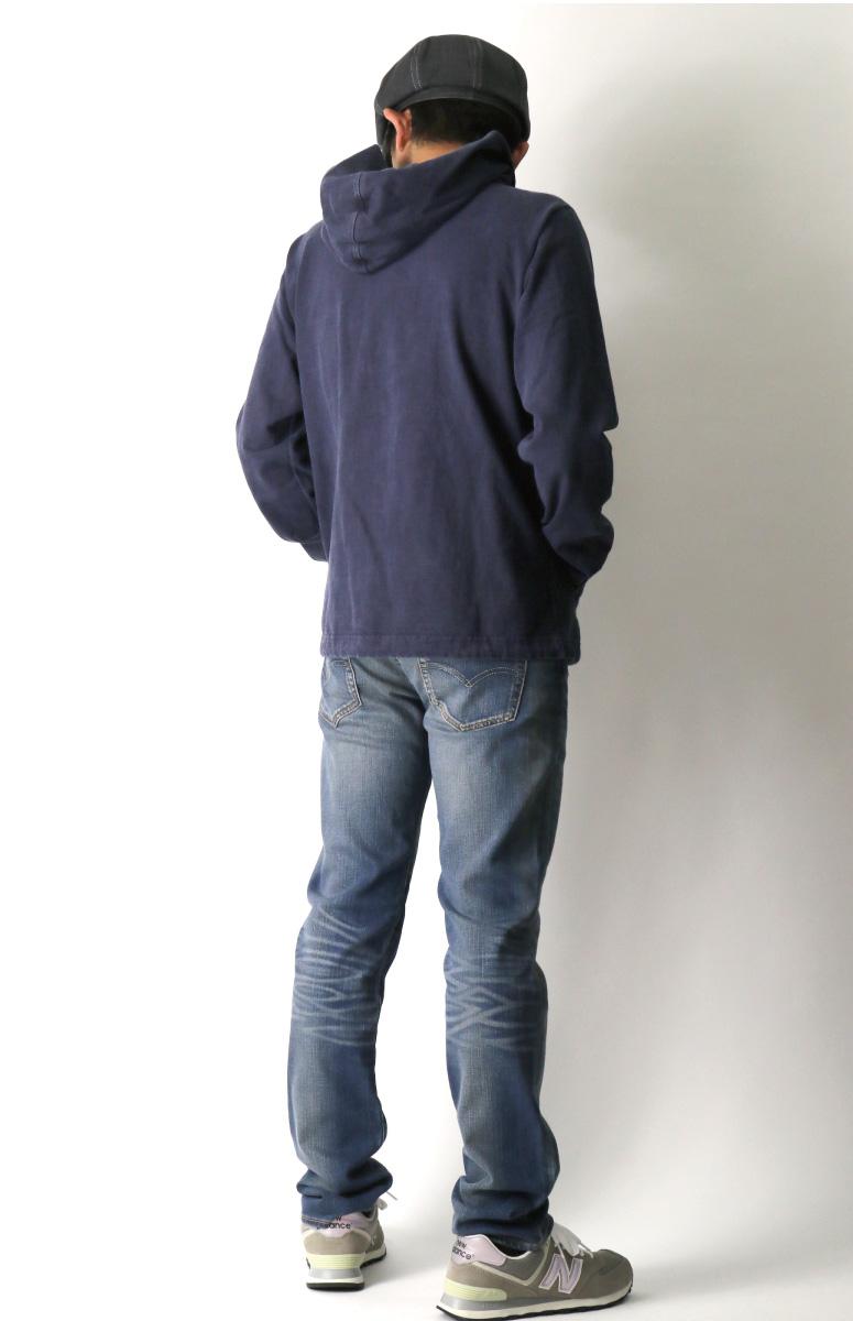 8515592cc46bd0 【送料無料】GoodOn(グッドオン)ヘビージャージーデッキジャケットフルジップパーカージップアップ