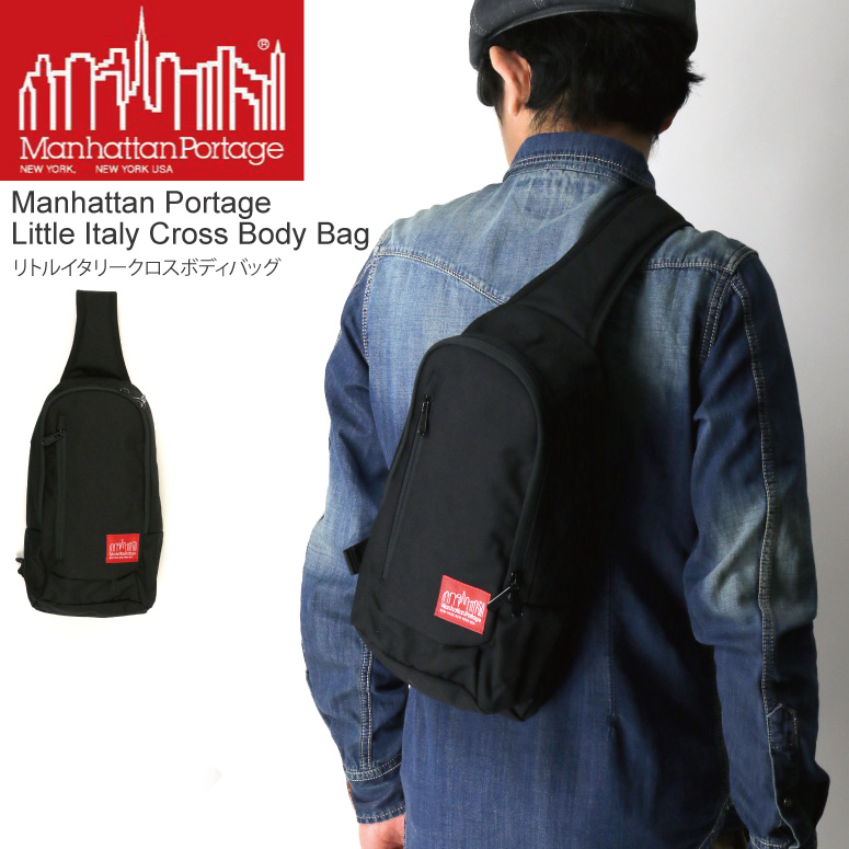 Product Manhattan Portage マンハッタンポーテージ Little Italy Crossbody Bag Body One Shoulder Men Gap Dis Who Is Targeted For A Coupon