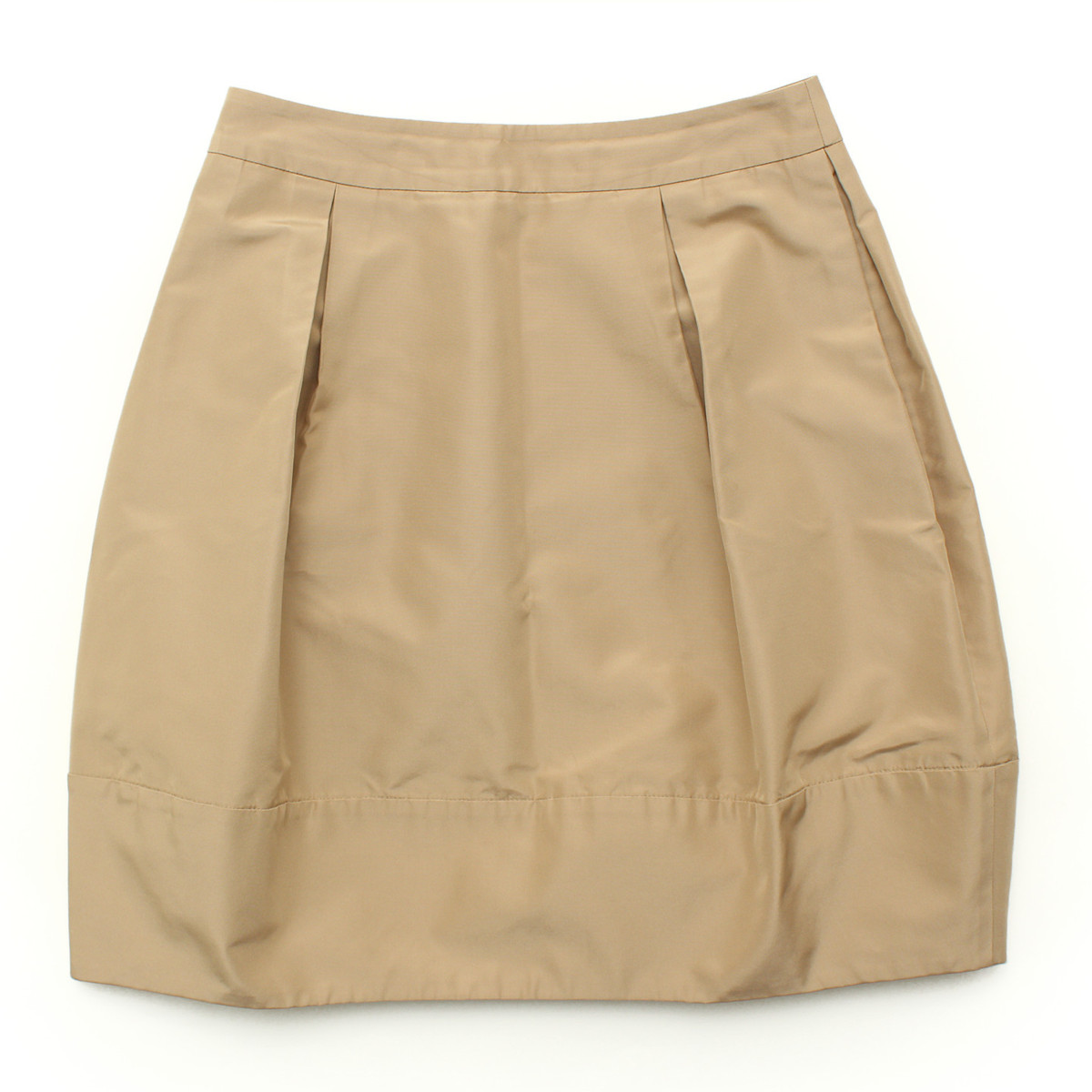 【フォクシー】Foxey 2012年 クラシカルドットスーツ シルク スカート 30144 ベージュ 40 【中古】【鑑定済・正規品保証】27799