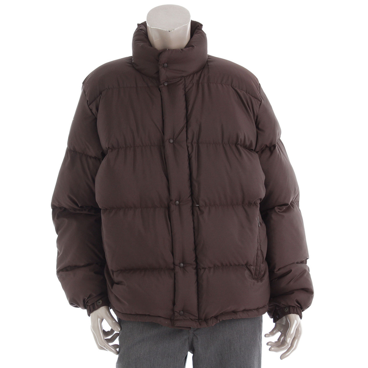 【モンクレール】Moncler メンズ ダウンジャケット ブラウン 青タグ 3 【中古】【鑑定済・正規品保証】【送料無料】32085