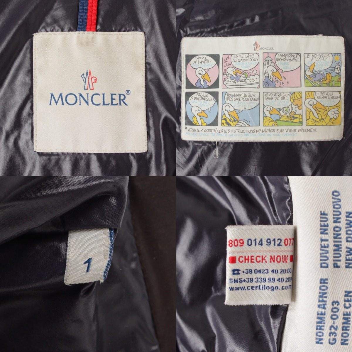 buy popular f2a2f 1bd7a Moncler MAYA Maya men down jacket 40366 dark brown 1 59653