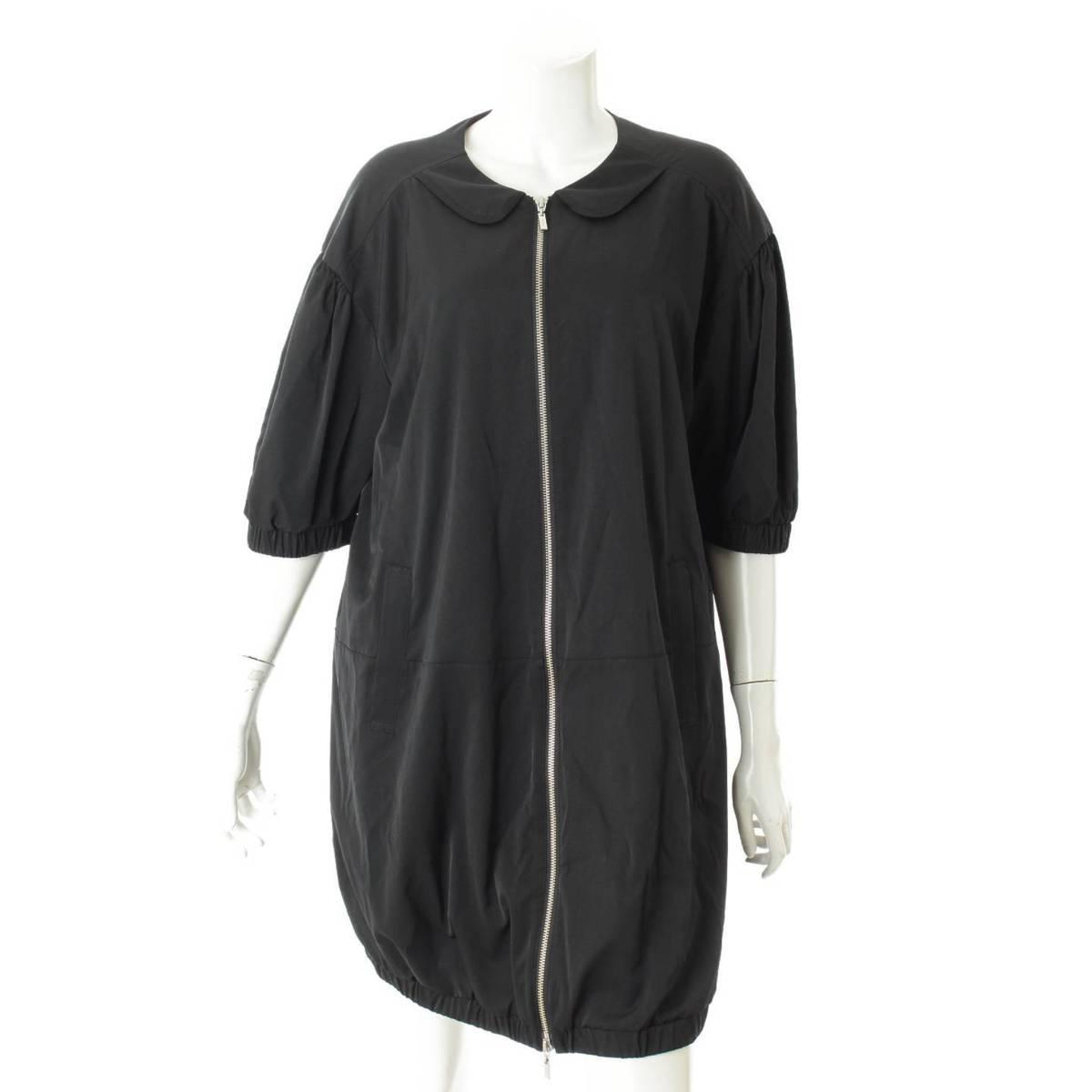 【30%OFFセール】【フォクシーニューヨーク】Foxey New York レインコート ドレス 37720 ブラック 40 【中古】【鑑定済・正規品保証】76110