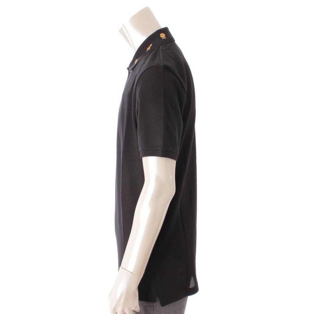 グッチ Gucci メンズ 刺繍 エンブロイダリー ポロシャツ トップス 523058 ブラック L 未使用 鑑定済・正規品保証 91410uK1cl3FTJ5