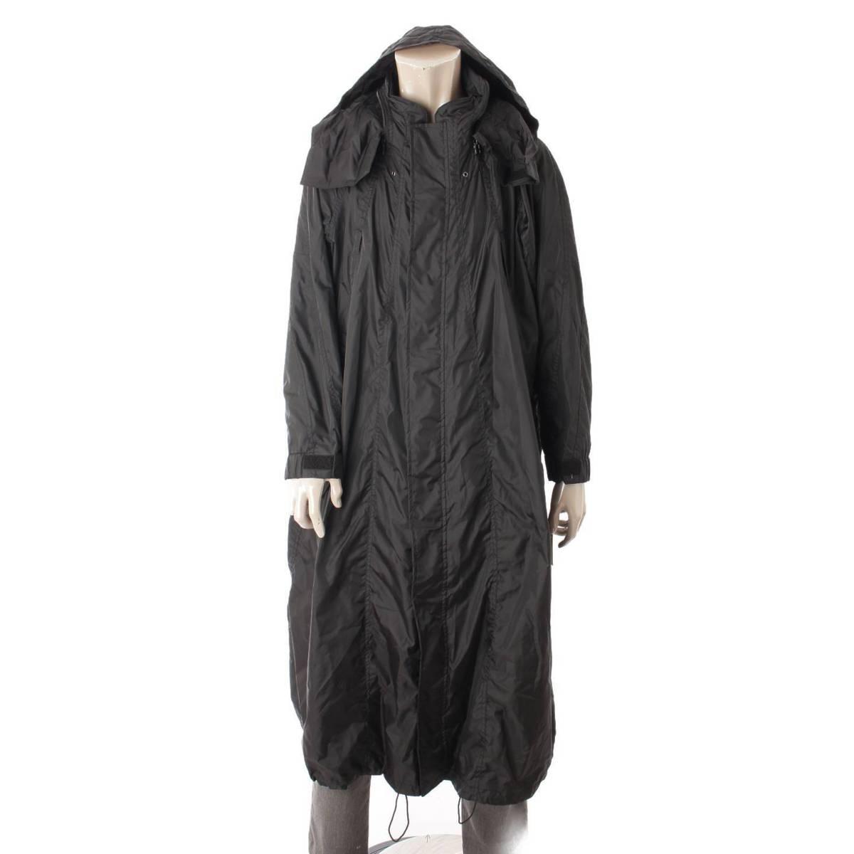 【イッセイミヤケ】Issey miyake ヴィンテージ オーバーコート ブラック 3 【中古】【鑑定済・正規品保証】96143
