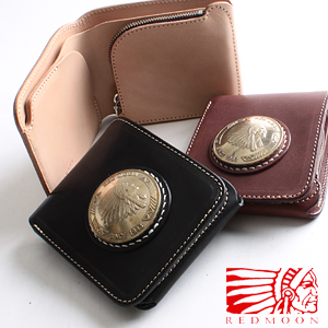 REDMOON red moon 2000(51mm/coin) shortstop wallet 2000-MD