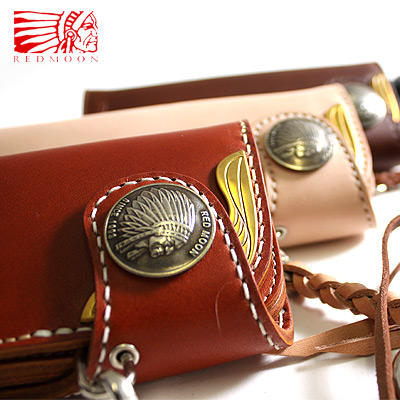 REDMOON RedMon metal yellow Eagle long wallet 0-CW-02AYE-M