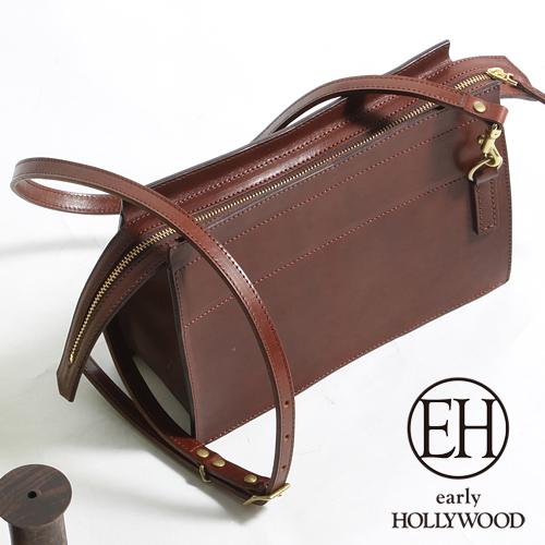 early HOLLYWOOD アーリーハリウッド クラシック レザーショルダーバッグ EH-ZOE-MT3[メンズ バッグ 鞄 レザー おしゃれ かっこいい 大人 彼氏 男性 プレゼント]