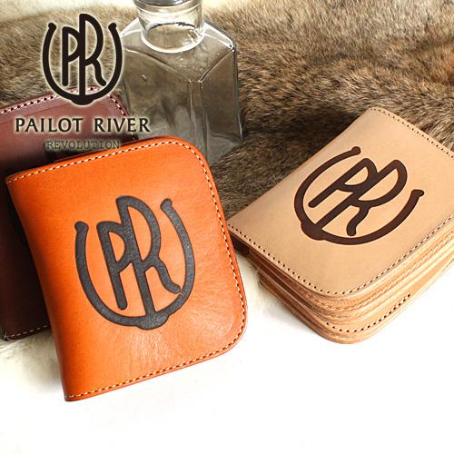 PAILOT RIVER パイロットリバー 二つ折り財布 PR-SR01B-NCC[メンズ 男物 本革 サドルレザー 日本製 職人 匠 財布 革財布 ウォレット ショートウォレット おしゃれ かっこいい 大人 彼氏 男性 プレゼント]