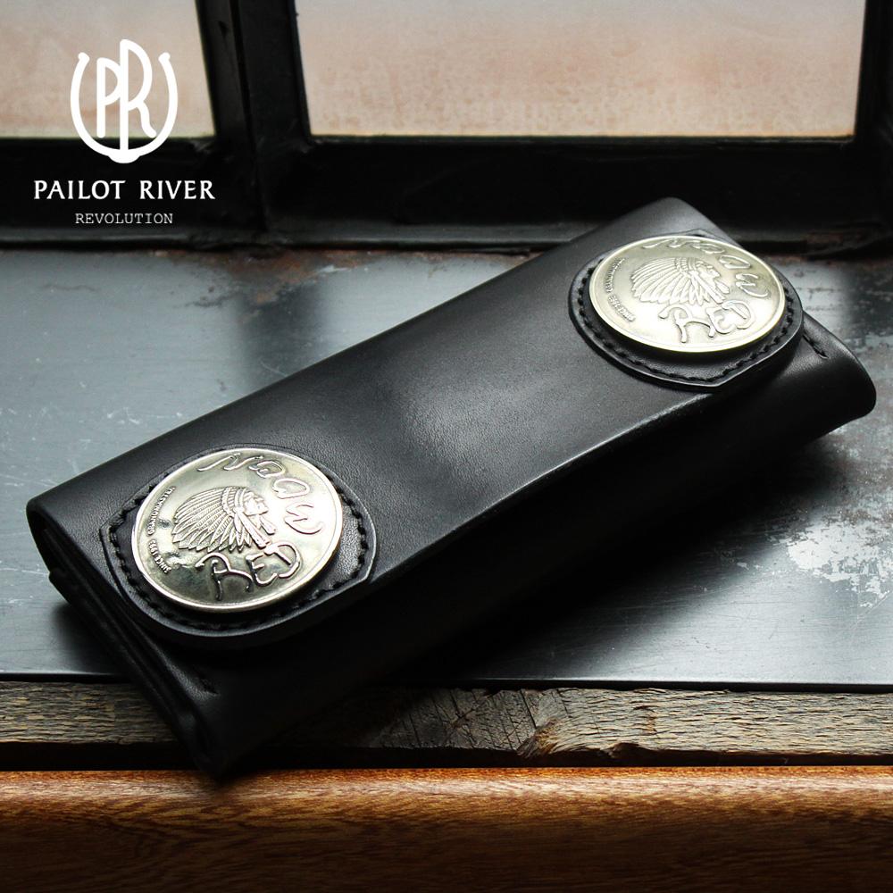 PAILOT RIVER/パイロットリバー ニューネバダ feat グランドマスター51mmコンチョ PR-NNV-GM おしゃれ かっこいい 大人 彼氏 男性 プレゼント]