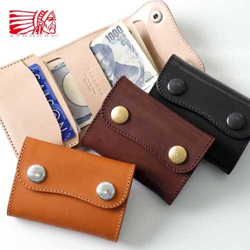 REDMOON レッドムーン コンパクトウォレット カードケース TMW-LC[メンズ 男物 本革 サドルレザー 日本製 職人 匠 財布 革財布 短財布 おしゃれ かっこいい 大人 彼氏 男性 プレゼント 小さい プレゼント 他にない]