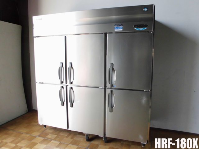 【中古】厨房 ホシザキ 業務用 6面 冷凍冷蔵庫 1凍5蔵 HRF-180X W1800 D800 H1890