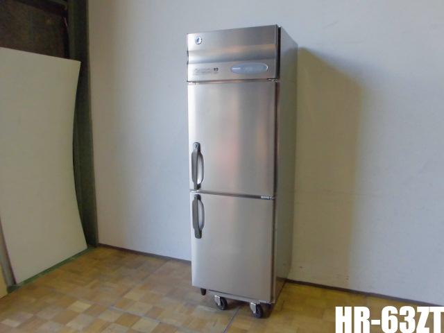 【中古】厨房 ホシザキ 業務用 縦型 2面冷蔵庫 HR-63ZT 空冷式 インバーター搭載 392L 100V 取扱説明書付き W625×D650×H1910mm