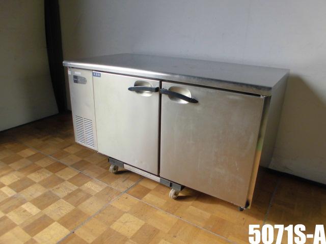 【中古】厨房 ダイワ 業務用 台下冷凍冷蔵庫 コールドテーブル 1凍1蔵 5071S-A マイコン制御 100V 冷蔵205L 冷凍211L