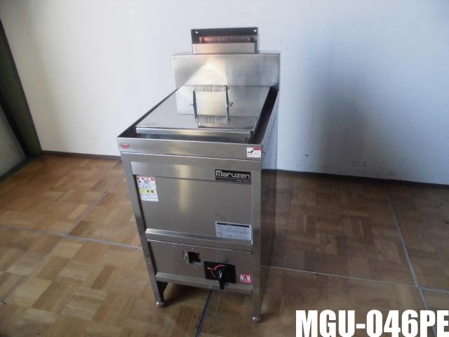 【中古】厨房 業務用マルゼン ガス パスタボイラー ゆで麺機 MGU-046PEW450×D600×H800(BG1040)mm 調整脚+80mm 都市ガス