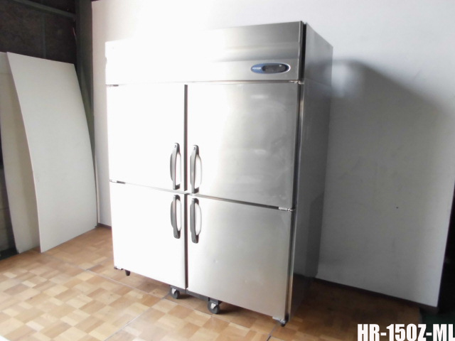 【中古】厨房 業務用 フクシマ 4面冷凍冷蔵庫 2凍2蔵 URN-152PM6 W1490 D650 H1950mm 100V