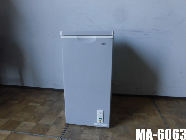 【中古】厨房 家庭用 三ツ星貿易 エクセレンス 冷凍ストッカー 冷凍庫 フリーザー MA-6063 100V 63L チェスト型 上開き W405×D560×H830mm