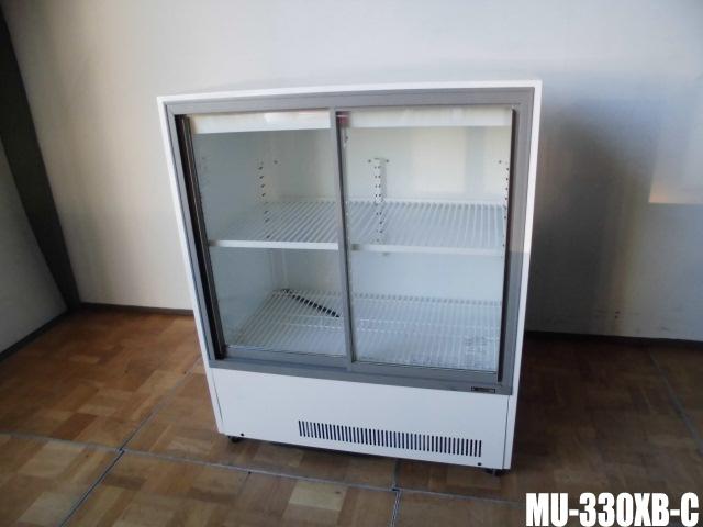 【中古】厨房 業務用サンデン 冷蔵ショーケースビン冷やし MU-330XB-CW900×D550×H1080mm