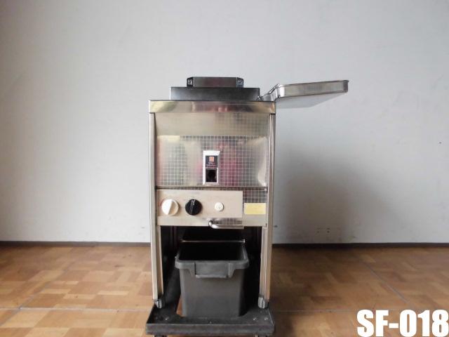 【中古】厨房 サミー ガスフライヤー SF-018 18L プロパン LP W450 D600