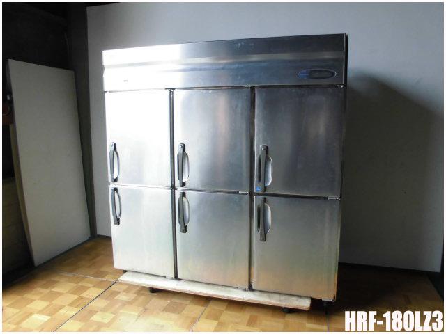 【中古】厨房 ホシザキ 業務用 6面 冷凍冷蔵庫 1凍5蔵 HRF-180LZ3 2015年製 W1800 D800