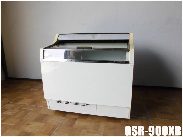 【中古】厨房 サンデン 冷凍 アイスショーケース GSR-900XB 157L W900×D730×H885mm 100V