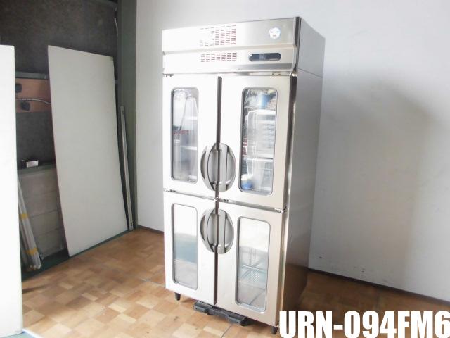 【中古】厨房 フクシマ リーチイン 冷凍庫URN-094FM6 W900 D650 H1950mm606L 3相200V 2016年製