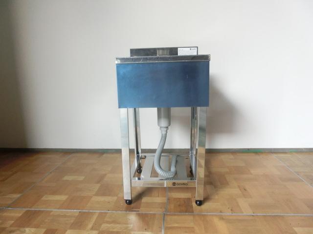 【中古】厨房 azuma アズマ 1槽シンク W450×D450×H800(BG890)mm