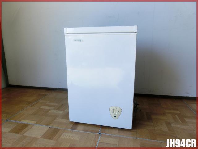 【中古】厨房 業務用 ノーフロスト 冷凍ストッカー チェストフリーザー JH94CR W560×D530×H835mm 94L 100V 取説付