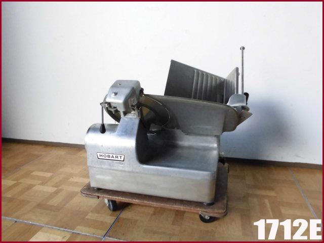 【中古】厨房 HOBART ホバート フードスライサー ミートスライサー 1712E W650 D600