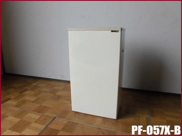 【中古】厨房 サンデン 冷凍ストッカー スライド扉タイプ 42L PF-057X-B W490 D310
