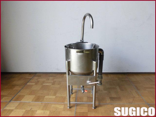 【中古】厨房 SUGICO スギコ 洗米機 W390 D390 H730 蛇口有