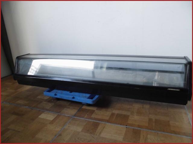 【中古】厨房 業務用ホシザキ 恒温高湿ネタケース 冷蔵ショーケースW1800×D370×340mm 100V