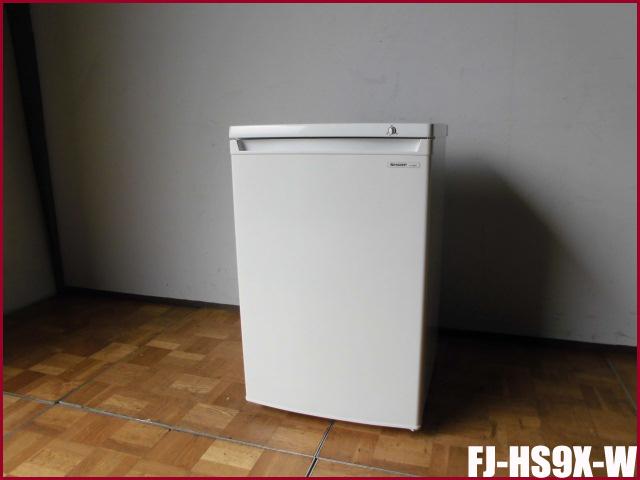 【中古】厨房 シャープ 1ドア 冷凍庫 フリーザー FJ-HS9X-W W550 D575 H865 100V