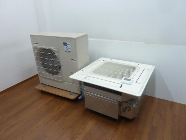 【中古】厨房 三菱 業務用 エアコン パッケージエアコン 3馬力 Mrスリム ER MPLZ-RP80BA4 3相200V 清掃ロボ
