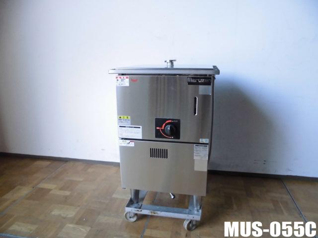 【中古】厨房 業務用マルゼン ガス蒸し器都市ガス MUS-055CW510×D580×H760(790)mm圧電式