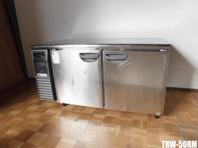 【中古】厨房 業務用フクシマ 台下冷蔵庫コールドテーブルTRW-50RM 442L 100VW1500×D750×H800mm