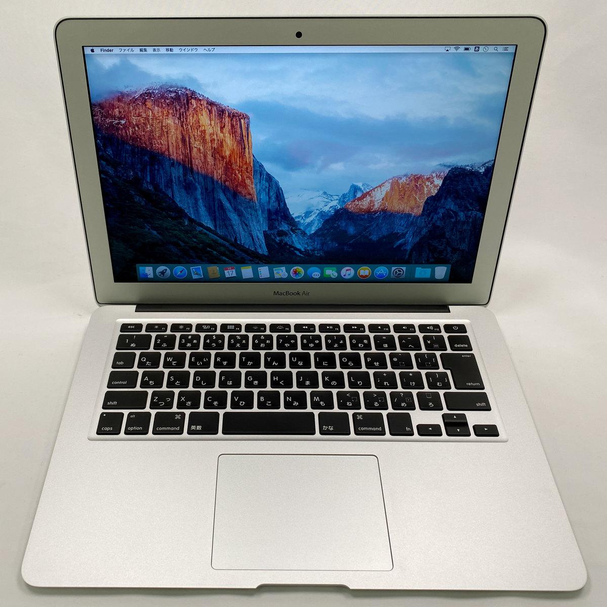 OS 公式通販 X El Capitan<10.11>搭載カラー:シルバー 中古 Apple MacBook SSD128GB ※本体のみ 割り引き 13インチ Air 2017年モデル メモリ8GB