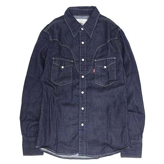 GO WEST ゴーウエストの通販ならREVE ゴーウェスト SHIRTS 信憑 RANCHER ランチャーシャツ 5%OFF インディゴ