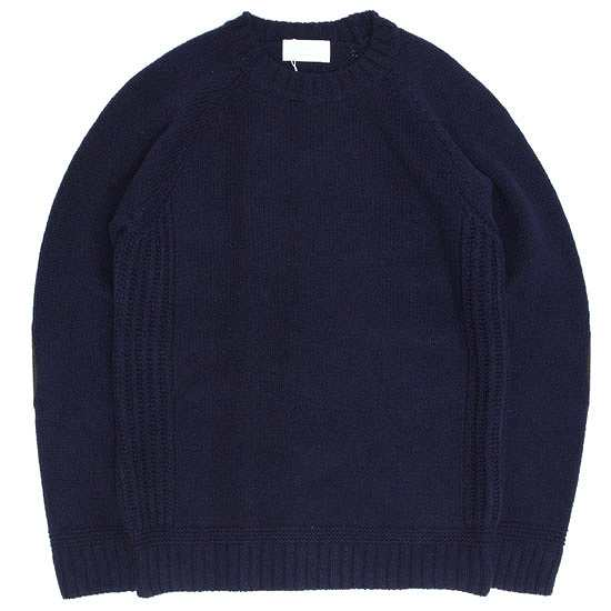 soglia ソリア|LANDNOAH Sweater (ネイビー)(ランドノアセーター)